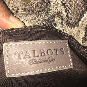 Talbot's chain handle purse